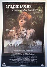 Poster - Mylène Farmer - Pourvu qu'elles soient douces - 1989