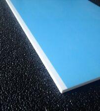 2x Forex/PVC/Hartschaum/Kunststoff/Platte/Zuschnitt/5mm/Format A6/weiß