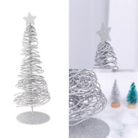 1 Pc Iron Wire Christmas Tree Lightweight Mini Tabletop Tree for Holiday Banquet
