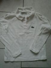 Polo manches longues lacoste 8 ans fille
