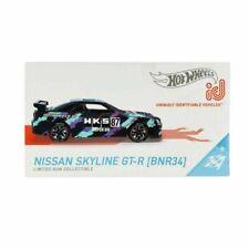 Nissan Skyline GT-R BNR34 HKS #87 + Chip zum scannen  ****** Hot Wheels ID 1:64