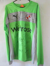 Reading 2012-2013 Squad Signed Goalkeeper Football Shirt COA /13287