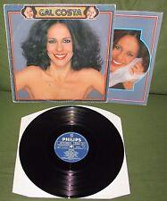 GAL COSTA Fantasia Orig 1ST BRAZIL PHILIPS 1981 + Poster Os Mutantes