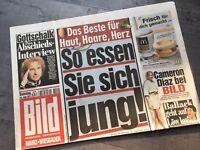 BILD Zeitung 18. Juni 2011 / 6. / 18.06.2011 / Gottschalk Cameron Diaz