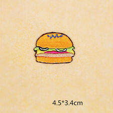 Hamburgers Cup Dly Clothes pants hat Iron on Embroidered Badge Applique Patches