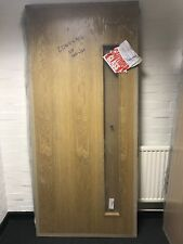 Solid Oak Venner Door 2040 x 926 x 44 (mm) c/w 1500 x 150 Clear Lam VP