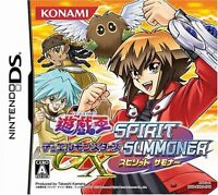 Used Nintendo DS Yu-Gi-Oh GX: Spirit Summoner Japan Import (Free Shipping)