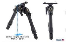 """Leapers UTG Pro TBNR Bipod, 7""""-9"""" Center Height M-LOK TLUBP02M"""
