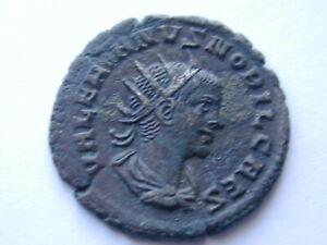 VALERIAN II SAMOSATA COMMAGENE AE ANTONINIANUS 2.96g 22mm 11h 256 AD RIC15 sharp