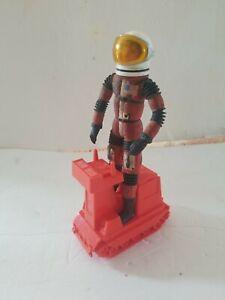 MATTEL 1966 - MAJOR MATT MASON - SPACE BUDDY SGT. STORM WITH HELMET & LUNAR TRAC