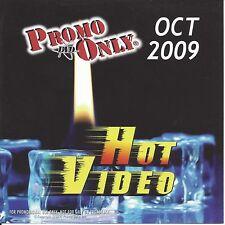 PROMO ONLY- New, DVD HOT VIDEO OCT.-2009,Madonna,Backstreet Boys,Pearl Jam