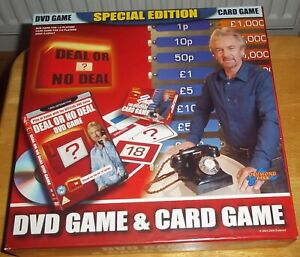Deal or No Deal DVD & Card Game Drumond Park  2006 Special Edition  VGC