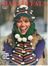 MANI DI FATA NOVEMBRE 1972 ANNO XLVII N 11 LAVORI FEMMINILI TAGLIO CUCITO RICAMO