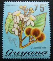 Guyana 1981 Blume Blüte Flower Blossom Pflanze Plant Aufdruck 628 Postfrisch MNH