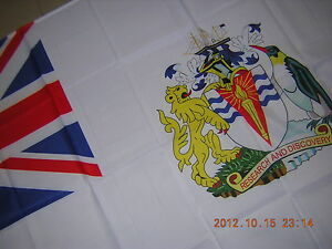 Flag of the British Empire British Antarctic Territory BAT Ensign 3X5ft GB UK