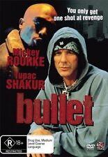 Bullet (Tupac Shakur 2Pac, Mickey Rourke)DVD Region 4 (Gangsta Classic) Reel DvD