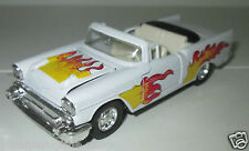 WELLY AMERICAN MUSCLE VOITURE CHEVROLET BEL AIR 1957 die cast pull arrière