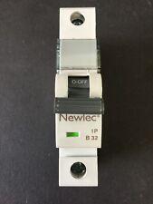 Newlec B32 32A MCB - Brand New