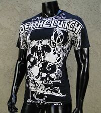 DeathClutch Ufc Team Circle Black Atletic Sport mens T shirt size Small