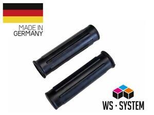 2 x Universal wheelbarrow handle grips also for hand truck - 25mm Black * New *