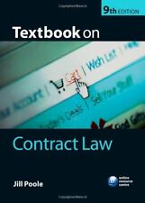 Textbook on Contract Law,Jill Poole- 9780199233519