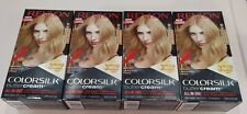 (4) Revlon Colorsilk Buttercream 90/81N Light Natural Blonde Hair Dye Color
