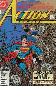 Action Comics Superman #585 DC Comics February Feb 1987 (VF)