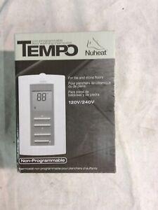 NuHeat Tempo Non-Programmable Floor Warming Thermostat