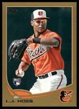 2013 Topps Gold L.J. Hoes #148 RC 0446/2013 Baltimore Orioles