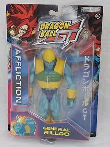 Dragon Ball GT Affliction Figur General Rilldo / Dragonball / Jakks Pacific 2004