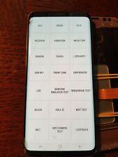 Ecran LCD SAMSUNG GALAXY S9+ G965 - vitre cassée + défaut - S9+2