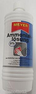 Salmiakgeist Ammoniak-Lösung 9 %  reinigen u entfetten