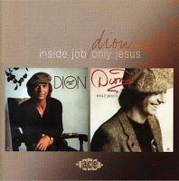 Dion - Inside Job / Only Jesus [New CD] UK - Import