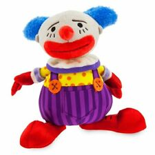 """Disney Authentic Chuckles the Clown Plush Doll 7"""" H Toy Story 4 Bean Bag Toy New"""