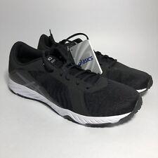 ASICS Men's Defiance X Cross-Trainer-Shoes Black Size 10
