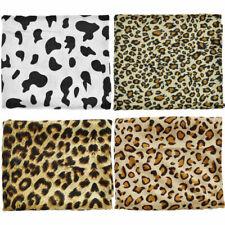 50x160cm Zebra Leopard Faux Fur Fabric Patchwork DIY Quilting Sewing Accessories
