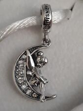 Genuine CHAMILIA Disney's Moonlit TINKERBELL Charm Bead RRP £50 Love Heart