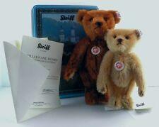 2008 Ltd. Edition Steiff William and Henry Bear Set in Tin - EAN 681172