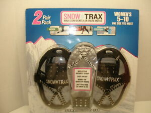 TWO PACK of SNOW TRAX...WOMENS SIZE 5-10
