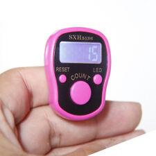 Portable Mini Digital LED Muslim Finger Ring Hand Tally Counter Digital Tasbih