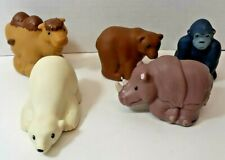 Little People Zoo Talkers Gorilla Bear Rhino Camel Animal Lot of 5