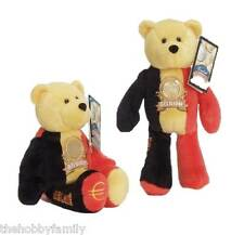 LIMITED TREASURES BELGIUM EURO COIN RETIRED STUFFED PLUSH BEAR NEW