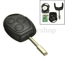 FOR FORD MONDEO FIESTA FOCUS KA TRANSIT 3 BUTTON 433MHZ REMOTE KEY FOB W/ BLADE