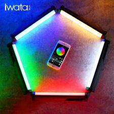 Iwata Master S RGB Led Video Light full Color Light Engine 6W 2000-10000K Remote