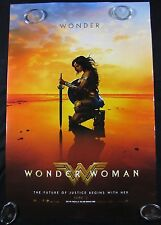 Wonder Woman Original Theater Movie Poster One Sheet DS 27x40