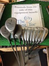 Dunlop Seve Ballesteros Woods / Irons Full Set
