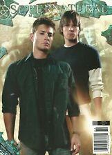Supernatural Magazine 5 Jared Jensen Variant Samantha Smith Posters NM No Label