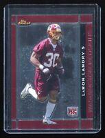 2007 Topps Finest #147 LaRon Landry RC (Rookie Washington Redskins)