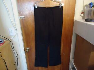"Tab NY Size M Black Scrubs Pants "" GREAT PAIR """