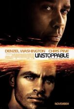 UNSTOPPABLE MOVIE POSTER Double Sided ORIGINAL ROLLED 27x40 DENZEL WASHINGTON